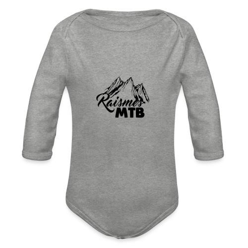 RaismesMTB Logo (maillot pour rider) - Body Bébé bio manches longues