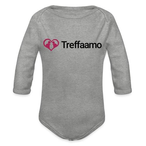 treffaamo-logo-vaaka - Vauvan pitkähihainen luomu-body