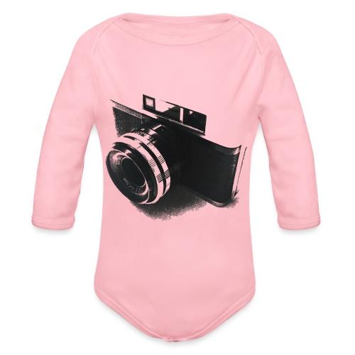 camara (Saw) - Organic Longsleeve Baby Bodysuit