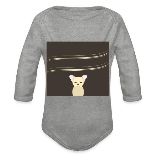 002_franz--sische_bulldoggegr - Baby Bio-Langarm-Body