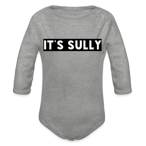 ITS SULLY17 - Organic Longsleeve Baby Bodysuit