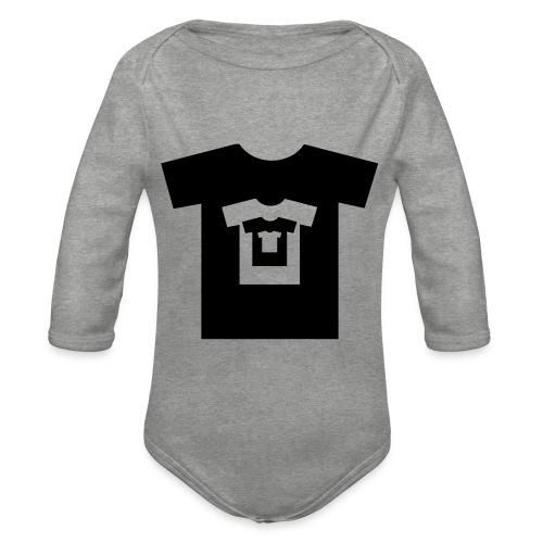 t-shirt récursif - Body Bébé bio manches longues