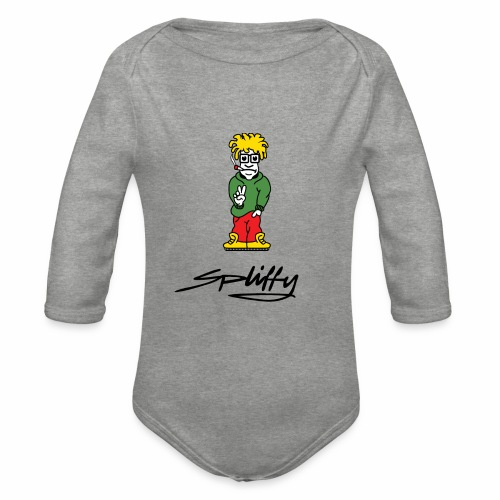 spliffy2 - Organic Longsleeve Baby Bodysuit