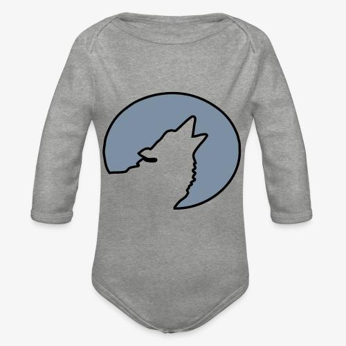 Moonwolf alt - Baby Bio-Langarm-Body
