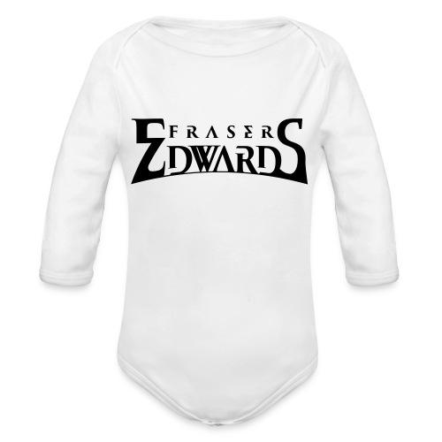 Fraser Edwards Men's Slim Fit T shirt - Organic Longsleeve Baby Bodysuit