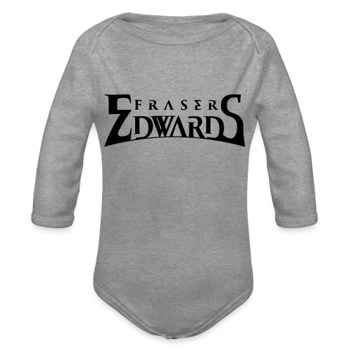 Fraser Edwards Men's Slim Fit T shirt - Organic Longsleeve Baby Bodysuit