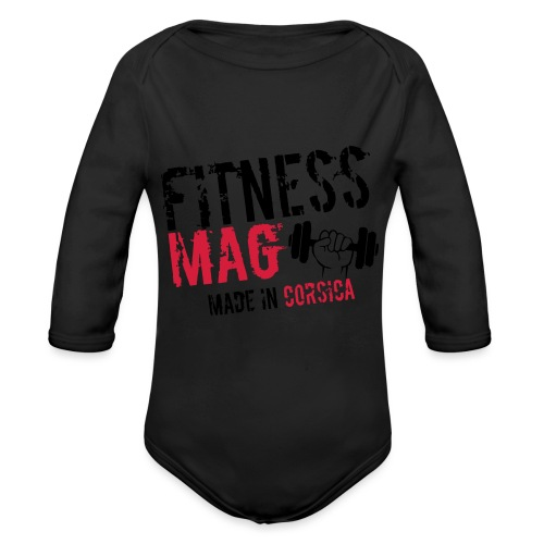 Fitness Mag made in corsica 100% Polyester - Body Bébé bio manches longues