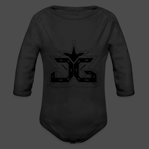 LOGO OUTLINE SMALL - Organic Longsleeve Baby Bodysuit