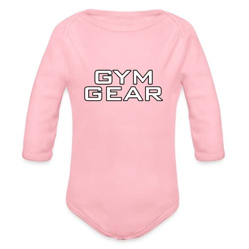 Gym GeaR - Organic Longsleeve Baby Bodysuit