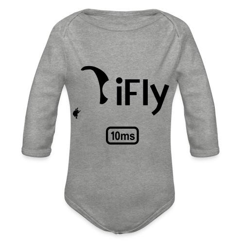 Paragliding iFly 10ms - Organic Longsleeve Baby Bodysuit