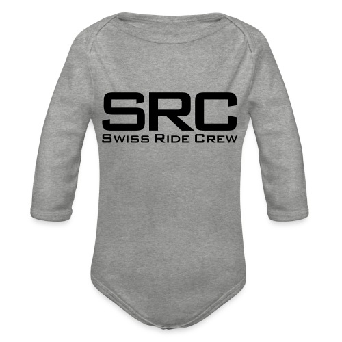 SRC Snapback Schwarz - Baby Bio-Langarm-Body