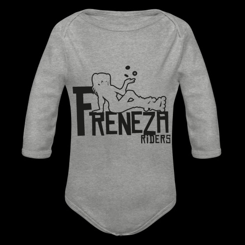 Freneza riders - positif - Body Bébé bio manches longues