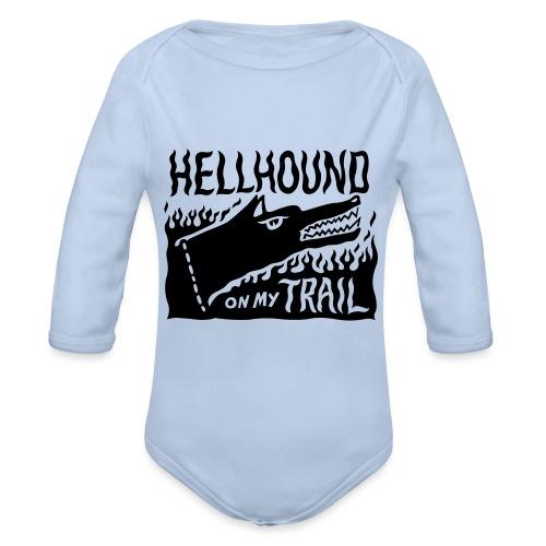 Hellhound on my trail - Organic Longsleeve Baby Bodysuit