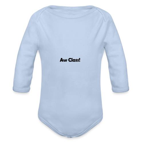 awCl - Organic Longsleeve Baby Bodysuit