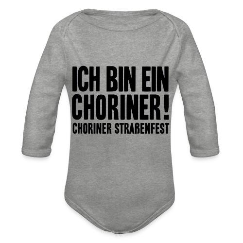 Ich bin ein Choriner! - Baby Bio-Langarm-Body