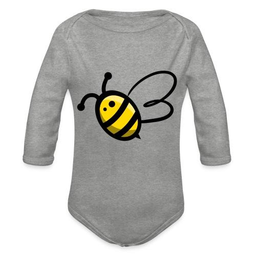 Bee b. Bee - Organic Longsleeve Baby Bodysuit