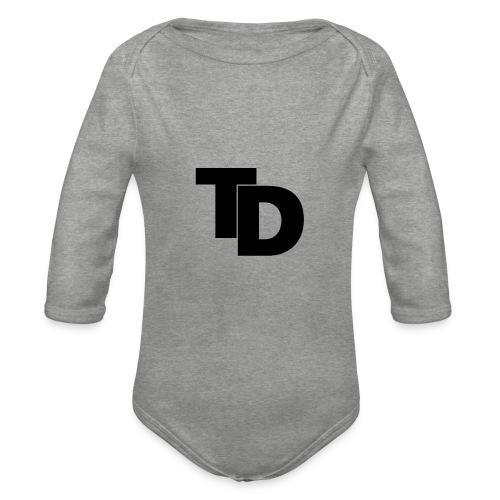 Topdown - premium shirt - Baby bio-rompertje met lange mouwen