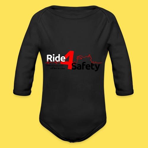 Ride4Safety - Body ecologico per neonato a manica lunga