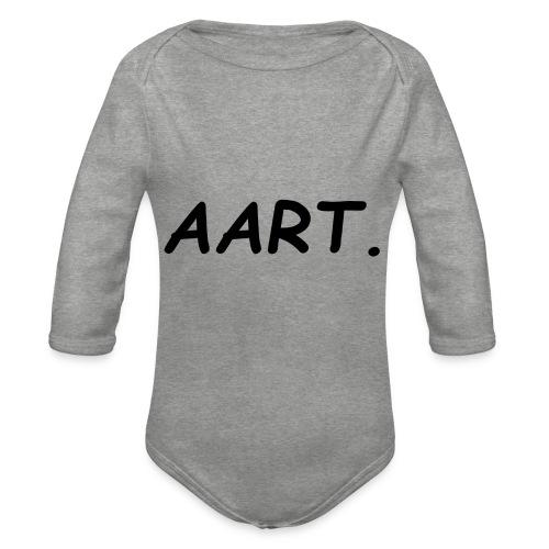 Aart - Baby bio-rompertje met lange mouwen