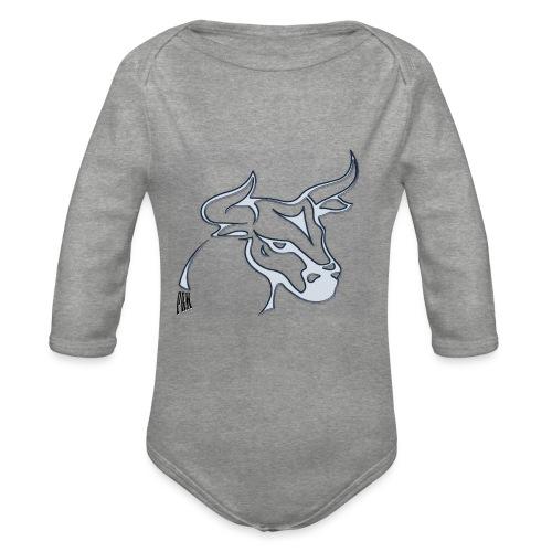 prm design taureau - Body Bébé bio manches longues