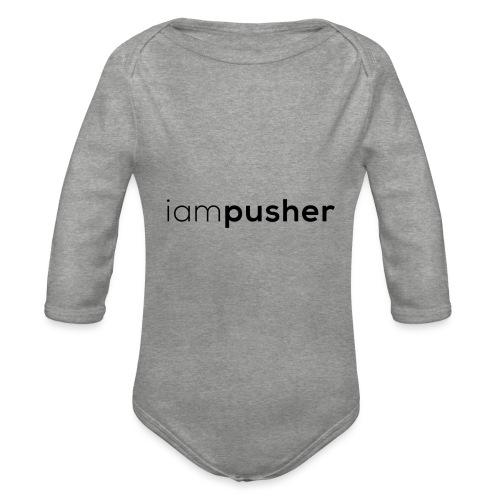 IAMPUSHER - Body ecologico per neonato a manica lunga