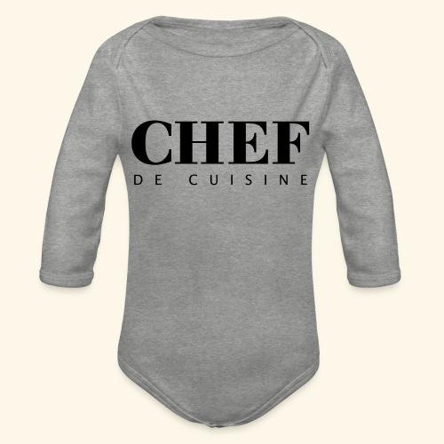 BOSS de cuisine - logotype - Organic Longsleeve Baby Bodysuit