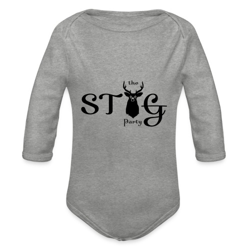 THE STAG PARTY - Organic Longsleeve Baby Bodysuit
