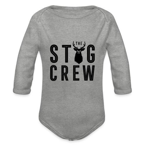 THE STAG CREW - Organic Longsleeve Baby Bodysuit