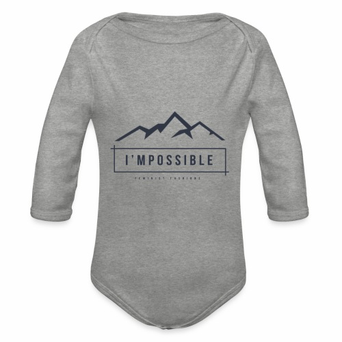 Impossible - Organic Longsleeve Baby Bodysuit