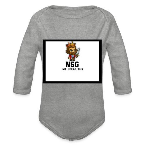 Test design - Organic Longsleeve Baby Bodysuit