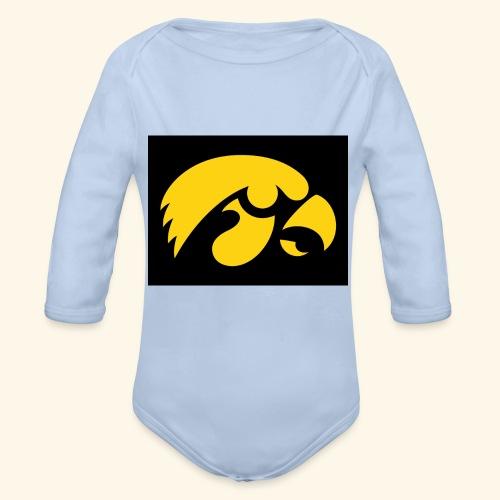 YellowHawk shirt - Baby bio-rompertje met lange mouwen