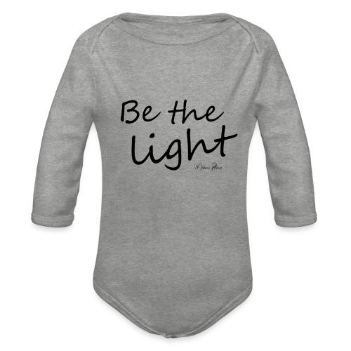 Be the light - Body Bébé bio manches longues