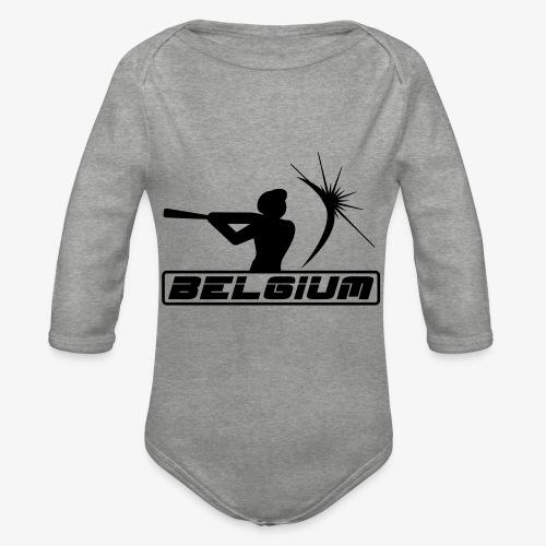Belgium 2 - Body Bébé bio manches longues