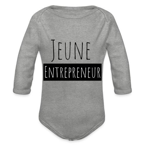 Jeune Entrepreneur - Body Bébé bio manches longues