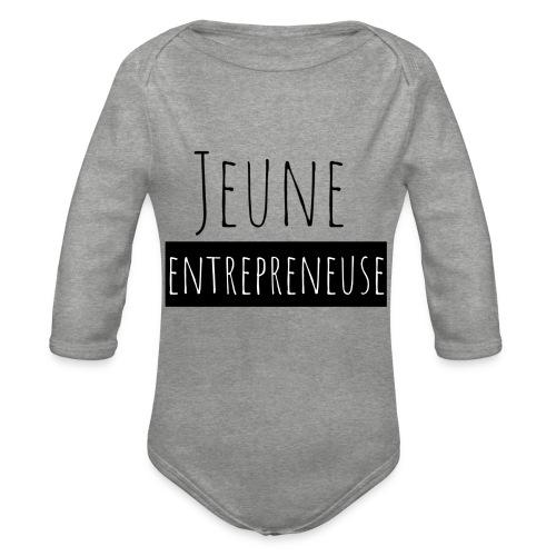 Jeune Entrepreneuse - Body Bébé bio manches longues