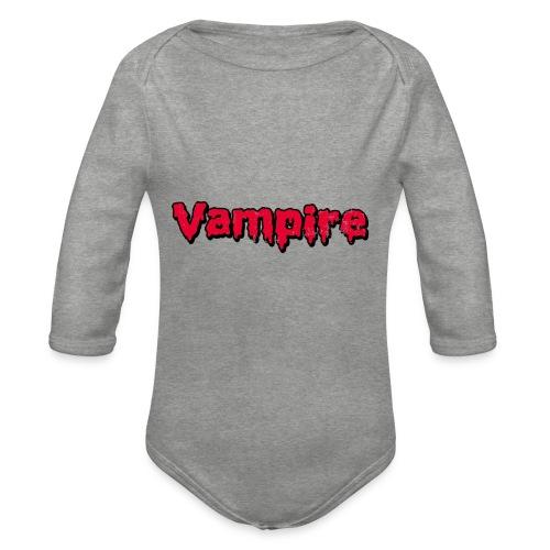 VAMPIRE Design - Organic Longsleeve Baby Bodysuit