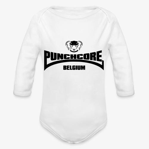 PUNCHCORE BELGIUM - Body Bébé bio manches longues