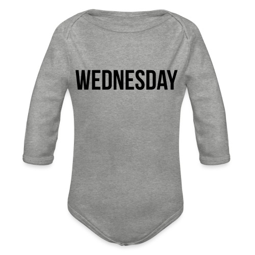 Wednesday - Organic Longsleeve Baby Bodysuit