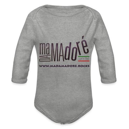 T-Shirt Premium - Uomo- Logo S Standard + Sito - Body ecologico per neonato a manica lunga