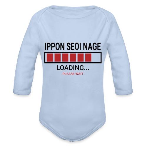 Loading... Ippon Seoi Nage - Ekologiczne body niemowlęce z długim rękawem