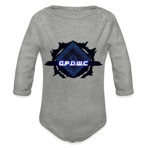 G.P.D.W.C - Company - Logo - Langærmet babybody, økologisk bomuld