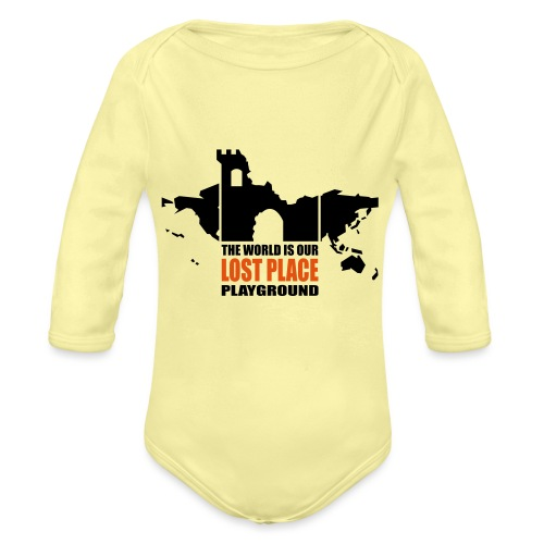 Lost Place - 2colors - 2011 - Baby Bio-Langarm-Body