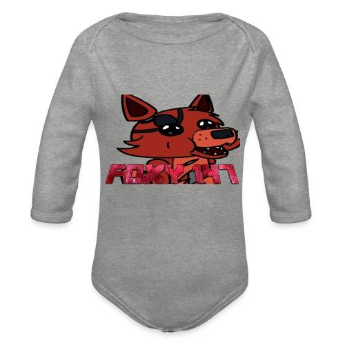 FOXY 147-PUPAZZO - Body ecologico per neonato a manica lunga