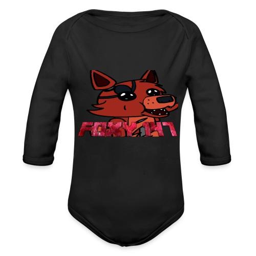 FOXY 147 - Body ecologico per neonato a manica lunga