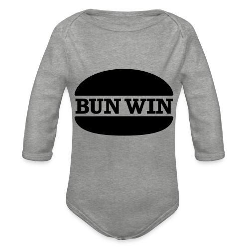 bunwinblack - Organic Longsleeve Baby Bodysuit