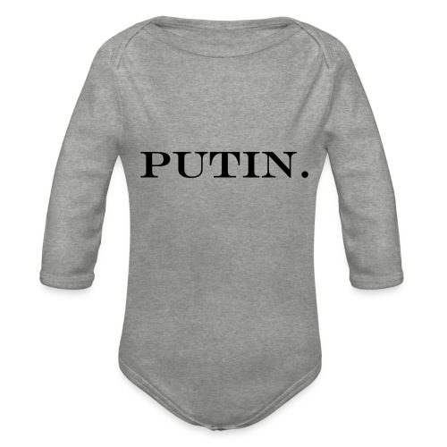 Vladimir PUTIN. - Baby Bio-Langarm-Body