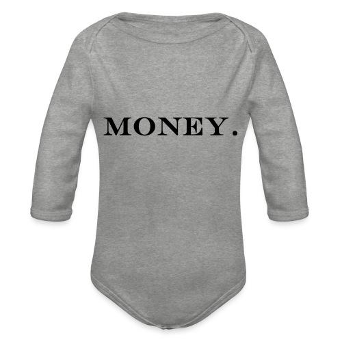 Money Geld - Baby Bio-Langarm-Body