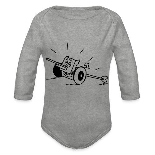 Panzerabwehrkanone - Baby Bio-Langarm-Body