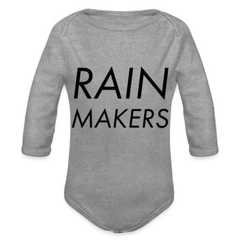 rainmakertext - Vauvan pitkähihainen luomu-body