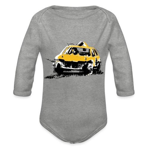 StockCar - Organic Longsleeve Baby Bodysuit